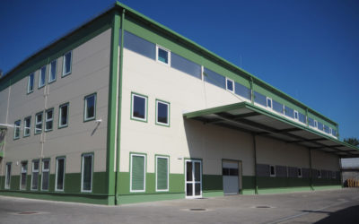 New paper preparing building